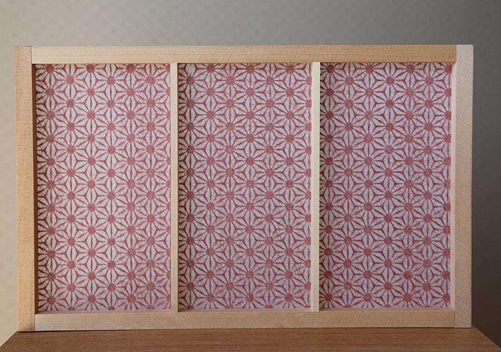 麻の葉や小梅柄など和風デザインの障子紙
