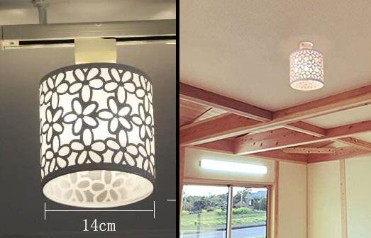 和室に小ぶりのアクセント照明