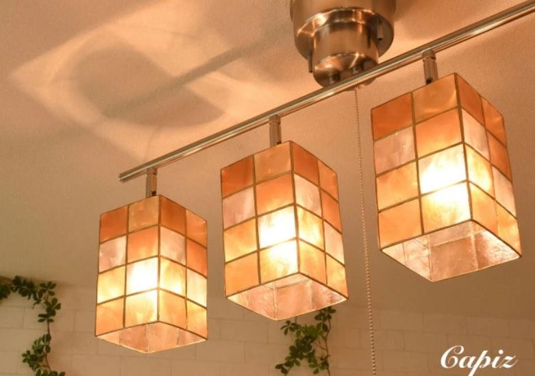 和室に合う北欧風のおしゃれなシーリングライト