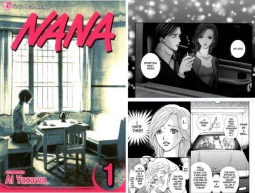 矢沢あいの少女漫画NANAの英訳版